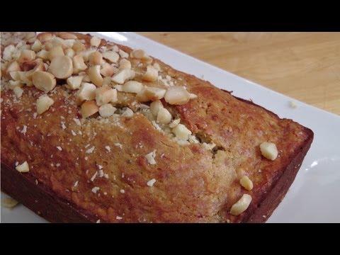 Island Banana Bread - Recipe by Laura Vitale - Laura in the Kitchen Episode 187