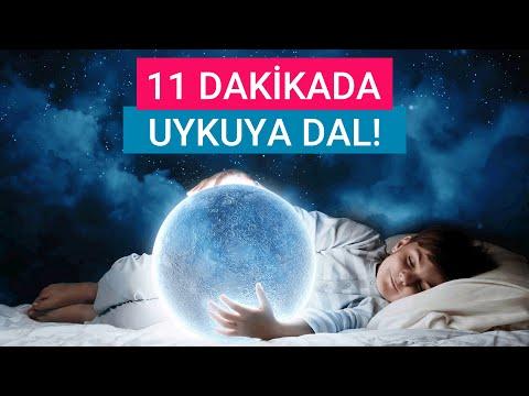 11 Dakikada Uykuya Dal ( Kaliteli Uyku Meditasyonu ve Müziği ) 💤