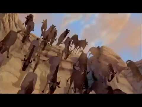 La corsa degli gnu - il re leone