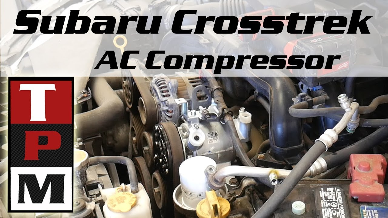hight resolution of 2014 subaru xv crosstrek ac compressor problem and replacement