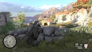 Sniper Elite 4 PC | San Celini Island Full HD 1080p | GTX 980 FPS Overlay With MSI Afterburner