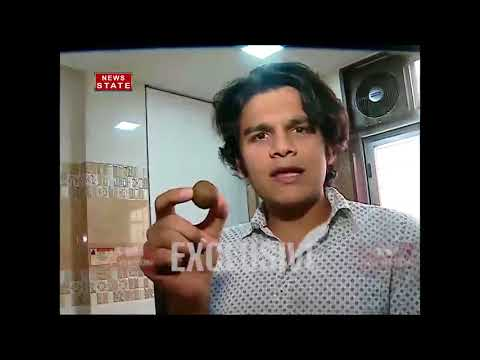 TV actor Bhavya Gandhi aka Tappu shows his cooking skills