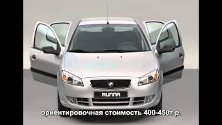 Iran-Khodro Runna 2014 / Пежо 206 в России