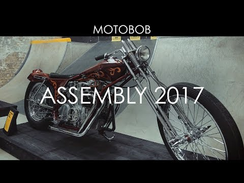Assembly Motorcycle Show 2017: House of Vans, London