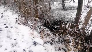Nice and relaxing snowing in the countryside (ambient sound and natural noise)