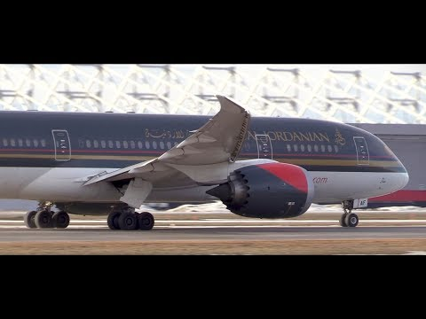 ROYAL JORDANIAN Boeing 787-8 Flight RJ268 Montreal - Amman    [JY BAF]