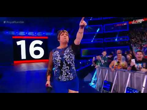Vickie Guerrero Returns Funny to the Womens Royal Rumble 2018