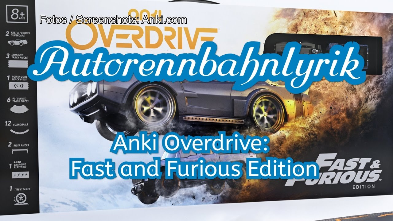 anki overdrive fast and furious edition vorstellung in. Black Bedroom Furniture Sets. Home Design Ideas