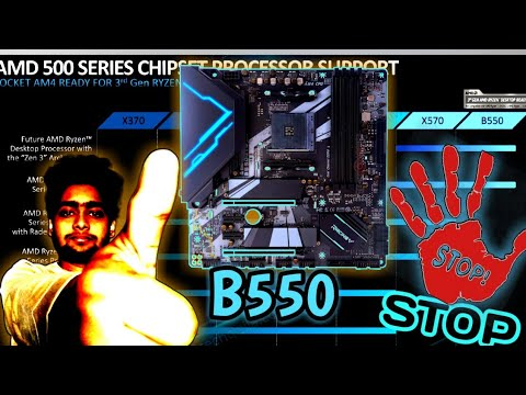 Amd B550 Chipset New Motherboard Some Specs Youtube