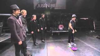 Justin Bieber   Season of Song  The Canadian Tenors Behind the scenes