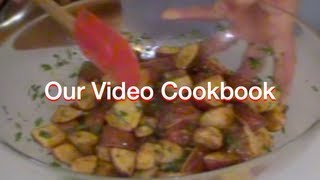 How To Make Crispy Garlic Parsley Potatoes Recipe | Our Video Cookbook #80