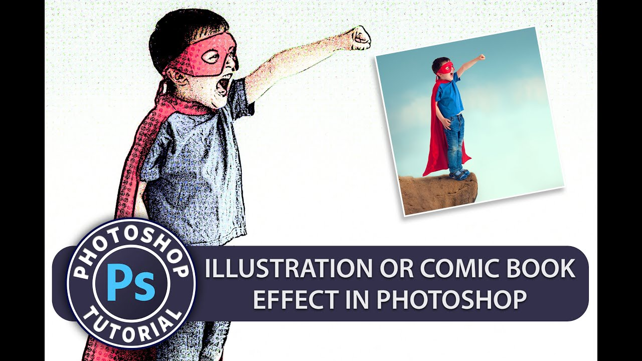 Illustration Or Comic Book Effect In Photoshop