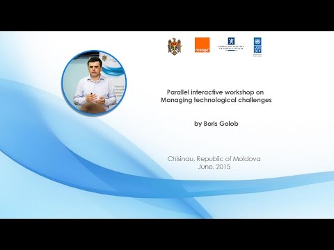 Parallel interactive workshop on Managing technological challenges