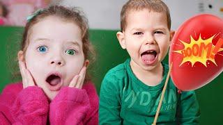 Globos magicos con sorpresas - una nueva competencia divertida para ninos