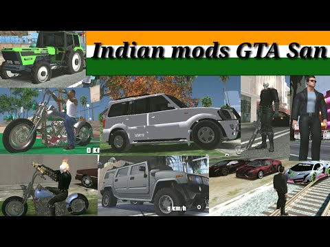 How To Download GTA Indian Mods From GTA San ( Android )in( Hindi )