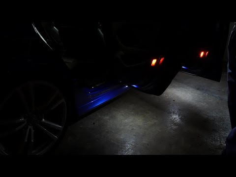 Audi S3 Puddle Light Install DIY