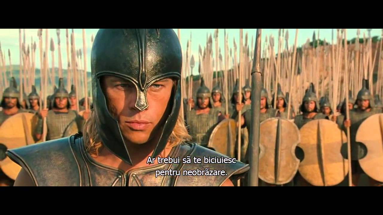 achilles intro hd troy 2004 youtube