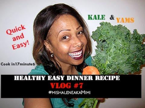 Healthy Easy Dinner Recipe #vlog7