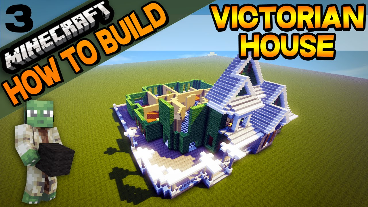 minecraft victorian house how to build e03 youtube minecraft victorian house how to build e03