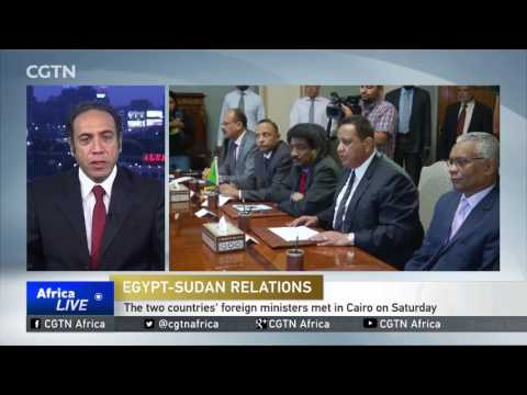 Foreign ministers of Egypt and Sudan meet in Cairo