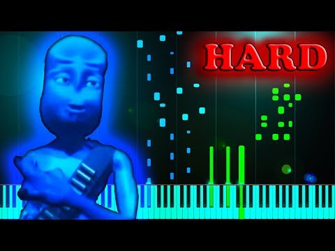 EIFFEL 65 - BLUE (DA BA DEE) - Piano Tutorial