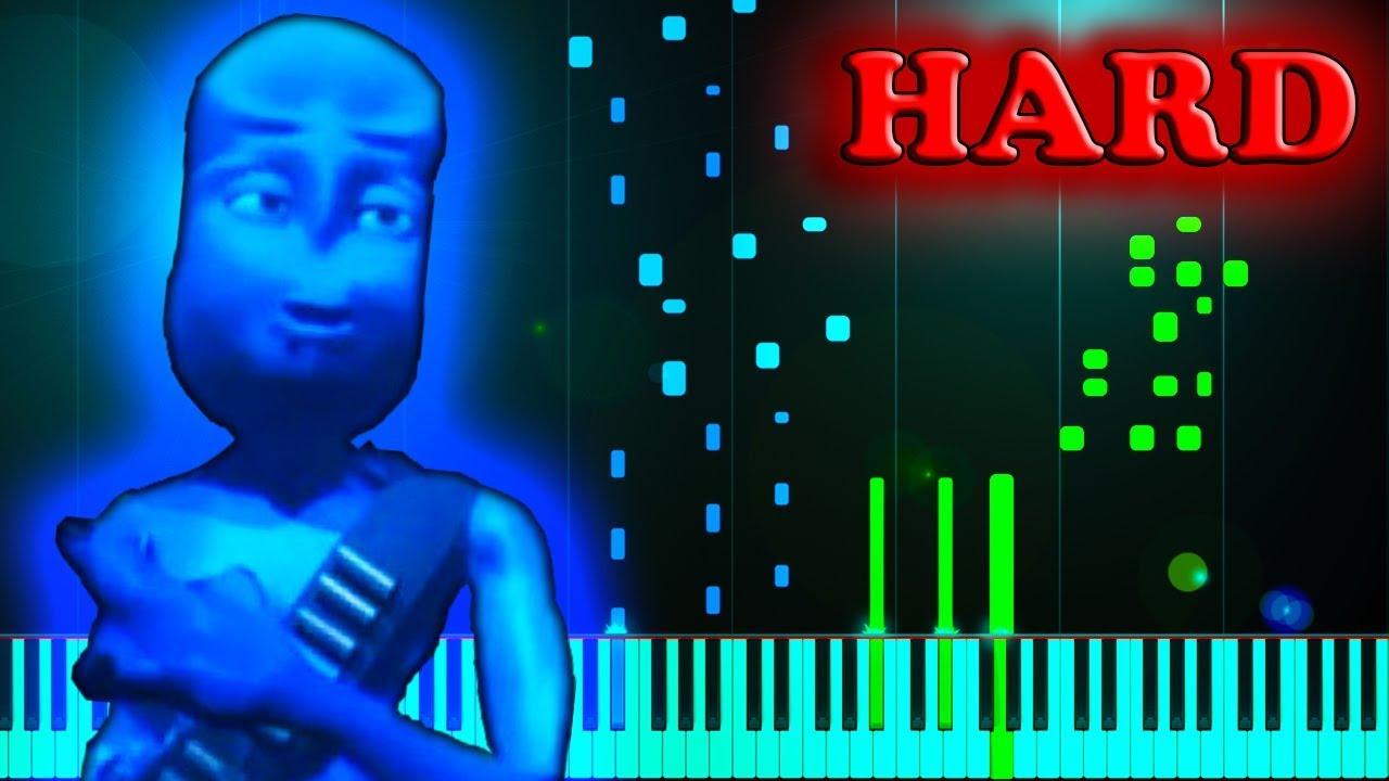 7d09fb9d62 EIFFEL 65 - BLUE (DA BA DEE) - Piano Tutorial - YouTube