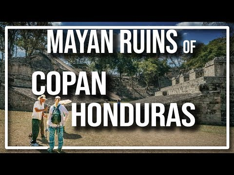 Exploring the Mayan City of Copan in the jungles of Honduras