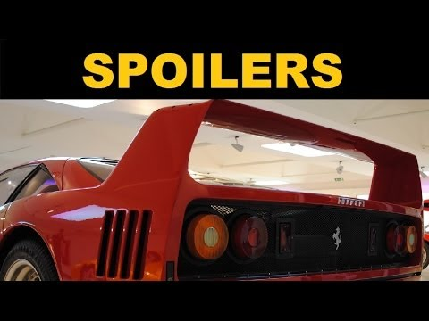 Spoilers And Rear Wings Explained Youtube