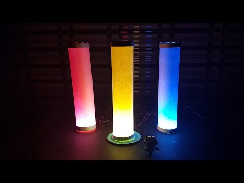 how to make colored paper lamp lantern diwali light -Easy Way