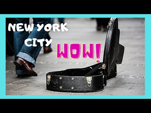 NEW YORK CITY: Incredible Street Performers At TIMES SQUARE (USA) 😲