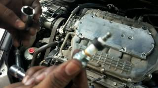 2004-2008 Acura TL Spark Plug Replacement