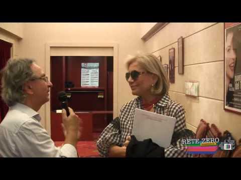 TEATRO PARIOLI. PRESENTAZIONE STAGIONE TEATRALE 201617. INTERVISTA A CATHERINE SPAAK