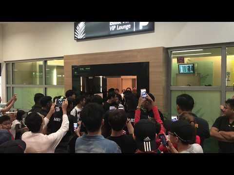 20171124 Rain arrival Penang Airport