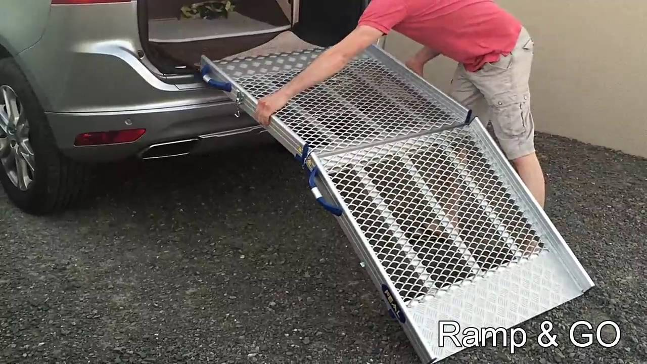 Amenagement Vehicule Pour Chien rampe pour chien easy 160 - youtube