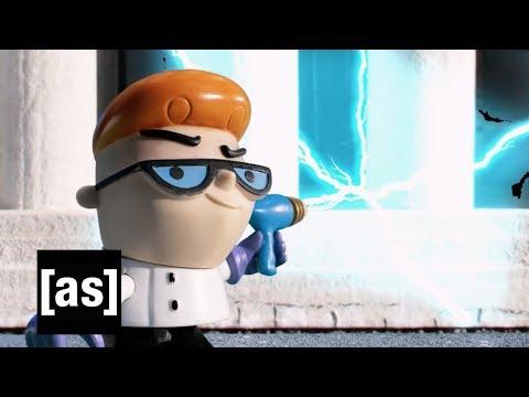 Dexter Goes To College | Robot Chicken | adult swim