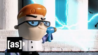 Dexter Goes To College | Robot Chicken | adult swim