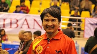 Phan Quang Minh Guitar - Table Tennis in VN Open 2014