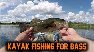 FIRST TIME KAYAK FISHING