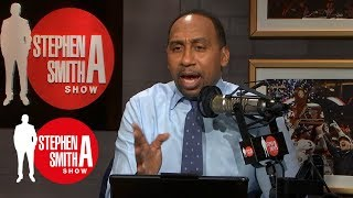 Stephen A. doesn't wąnt to talk about Colin Kaepernick ad | Stephen A. Smith Show | ESPN