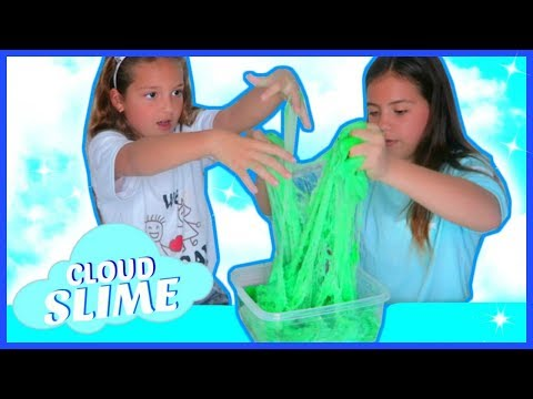 MAKING CLOUD SLIME BY ACCIDENT WITH GELLI BAFF