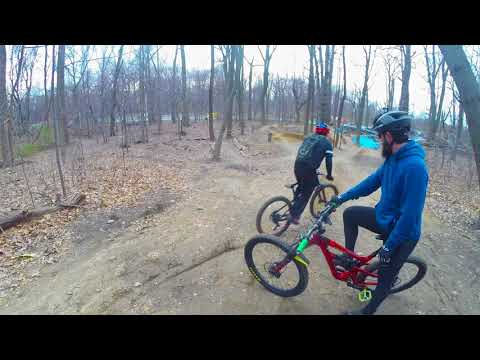 NYC MOUNTAIN BIKERS. ..CUNNINGHAM PARK  2018