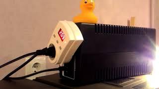 ИБП APC Back-UPS Pro BX650LI-GR, 650ВA часть 3