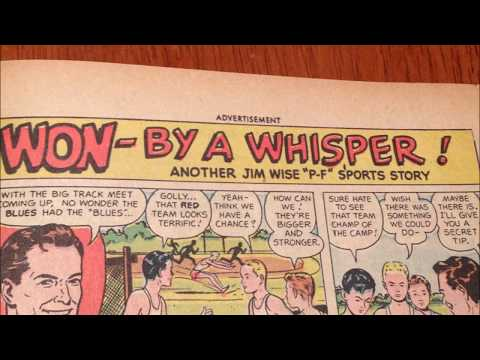COMIC MAN PRODUCTIONS: PF SHOES JIM WISE COMIC BOOK AD 1948