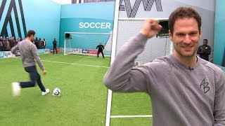 Asmir Begovic's Wayward Volley Goes Into Audience! | Soccer Am Pro Am