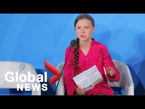 Greta Thunberg blasts world leaders in emotional speech at U.N. climate summit: 'How dare you'