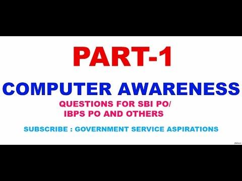 COMPUTER AWARENESS PART 1