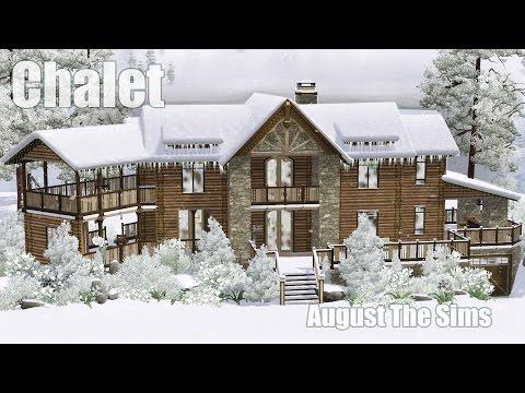 The Sims 3 - Speed Build | Шале (Альпийский Дом)
