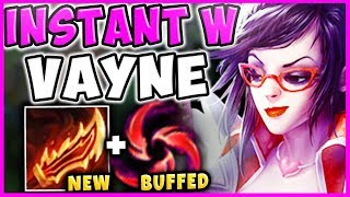(FACE-CAM) VAYNE BUFFS + BUFFED HAIL OF BLADES = INSTANT SILVER BOLTS!  - League of Legends
