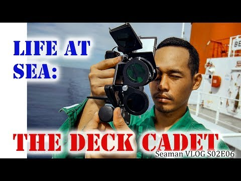 The Deck Cadet | Life at Sea | Seaman Vlog