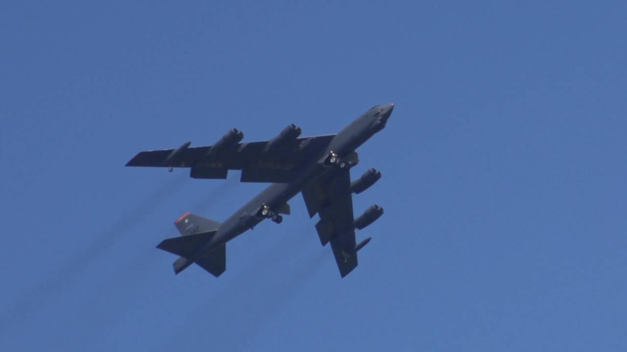 RAF Fairford - Boeing B-52 '007' Callsign 'Mytee 51' - Exercise Sabre  Strike/Baltops 2016